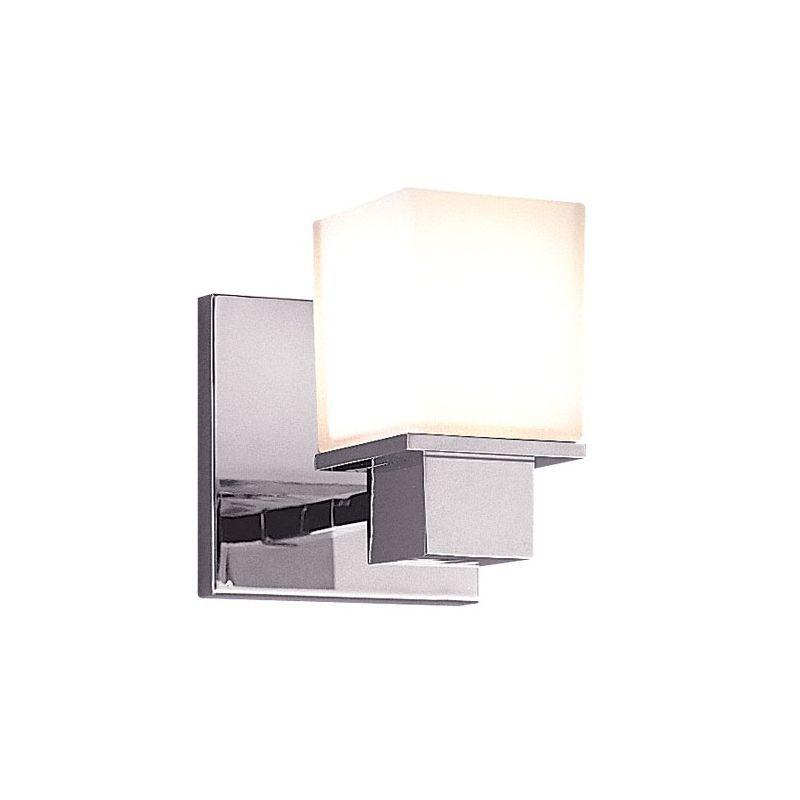 Hudson Valley Lighting Milford Light Bathroom Wall Sconce - Bathroom wall sconces polished chrome