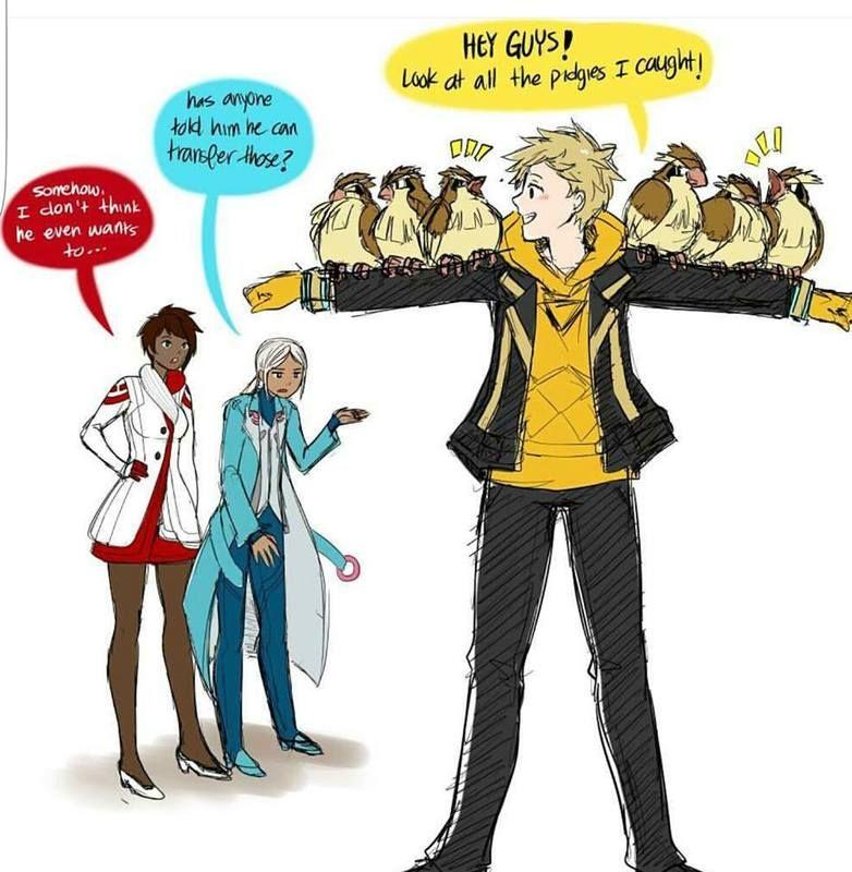 Spark catches some Pokemon   Pokemon go comics, Pokemon go ...