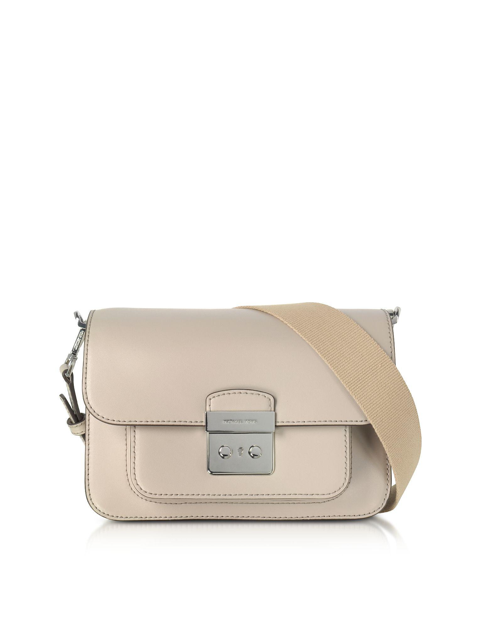 8bdcda9d5559 MICHAEL KORS SLOAN EDITOR LARGE CEMENT LEATHER SHOULDER BAG.  michaelkors   bags  shoulder bags  leather
