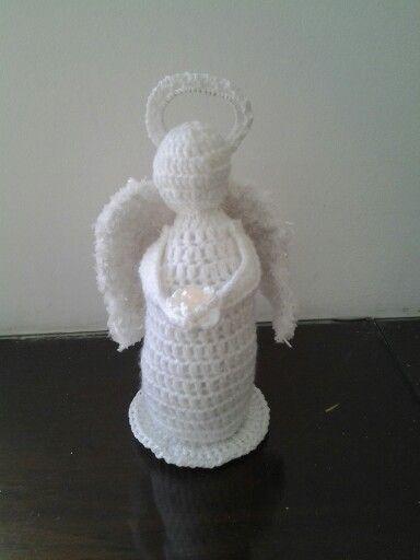 Anjo em crochê , Angel  crochet