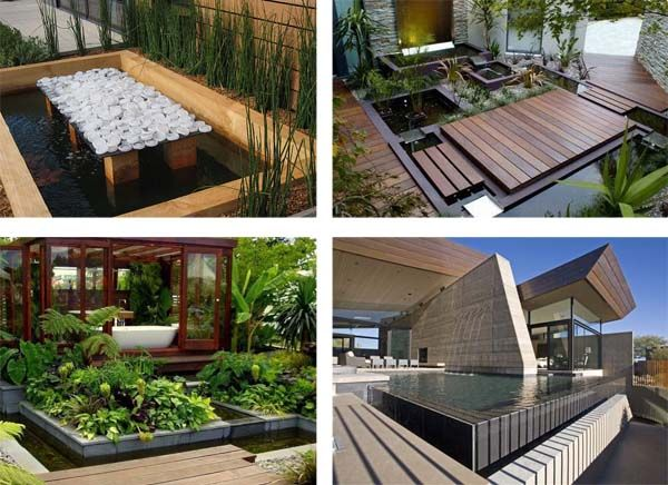 Ideas to make your small garden pond beautiful water for Koi pond design layout
