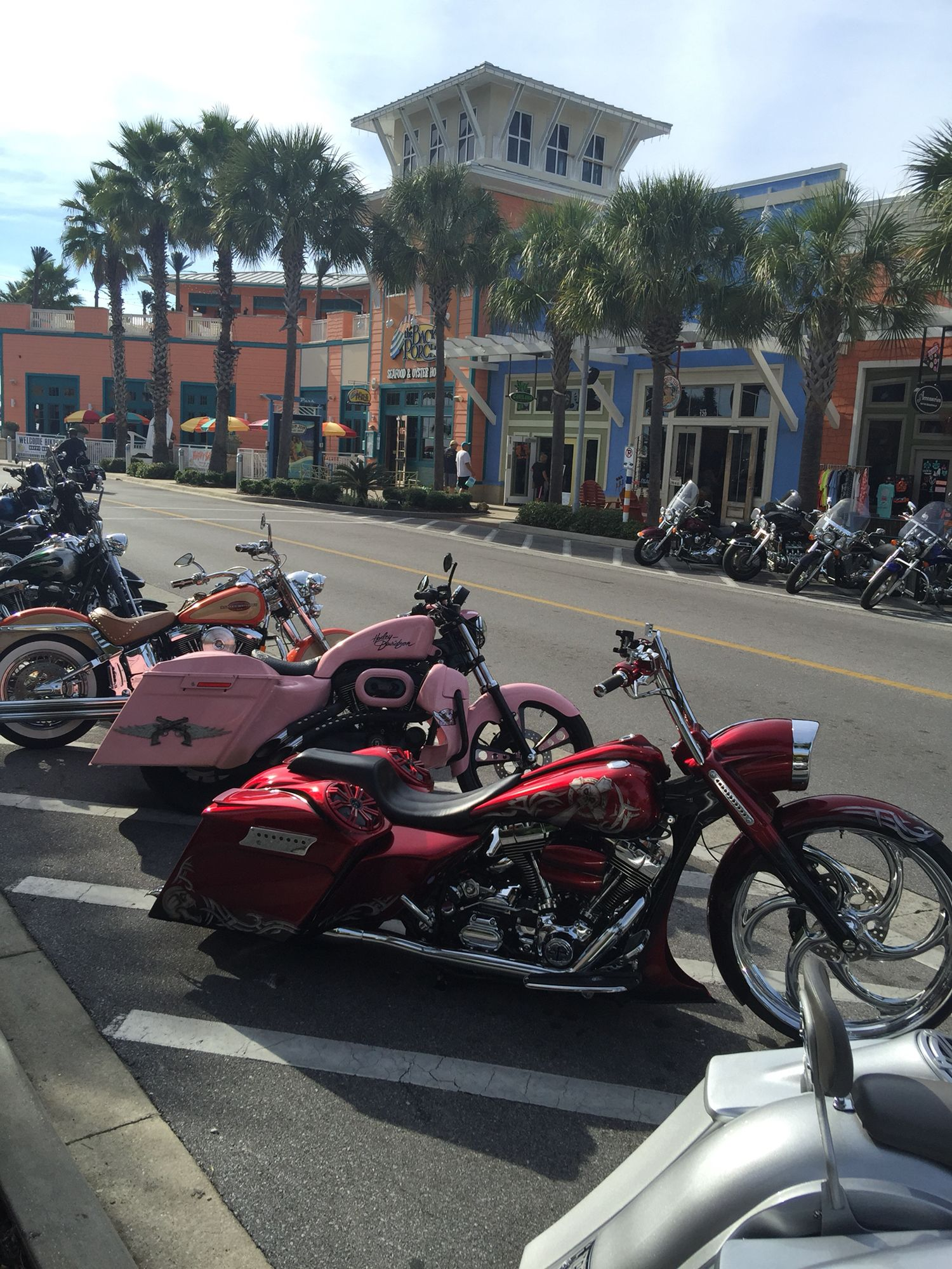 Thunder Beach Bike Rally Fall 2017 Pier Park In Panama City Fl