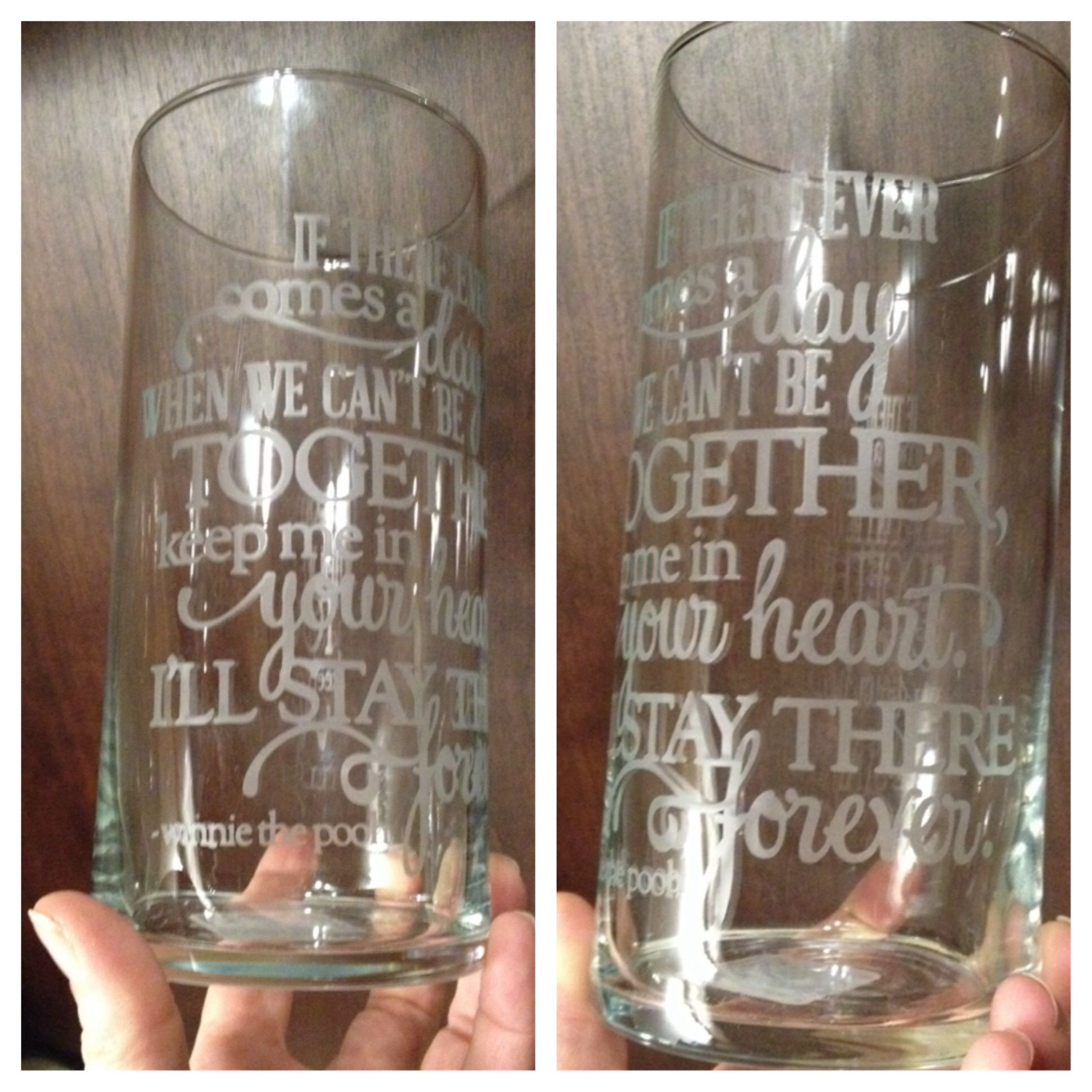 how to use armour etch on wine glasses
