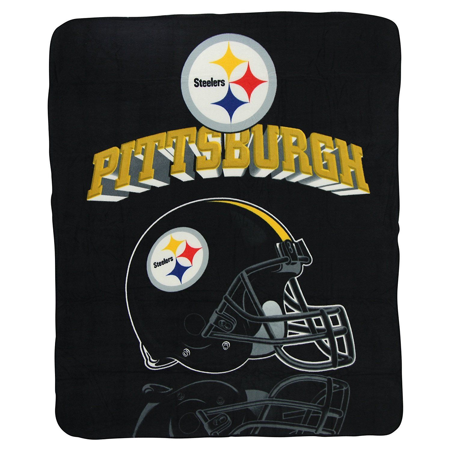 Nfl Fleece Blankets 50 X 60 Steelers Home Kitchen Steelers Fleece Throw Football Picks