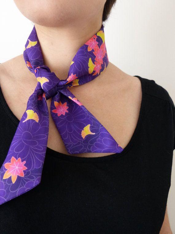 PRICE DOWN Small silk scarf