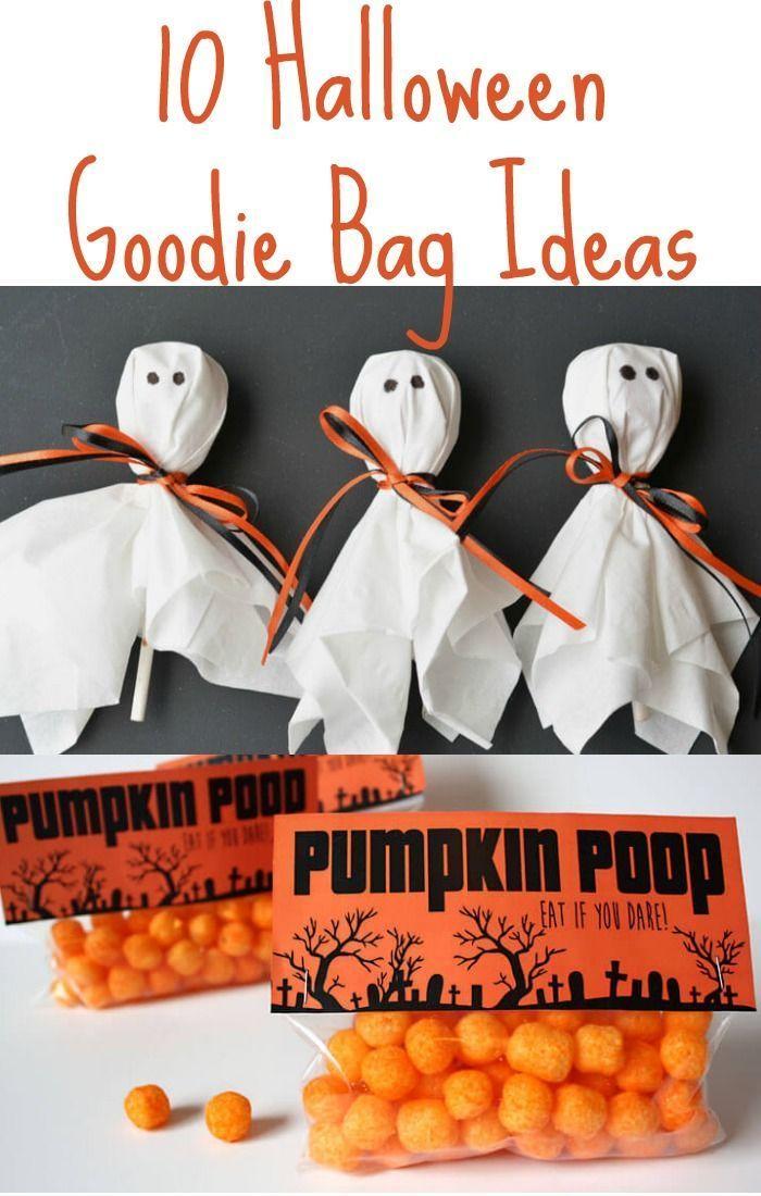 12 DIY Halloween Goodie Bag Ideas for a Super Fun Halloween - halloween gift bag ideas