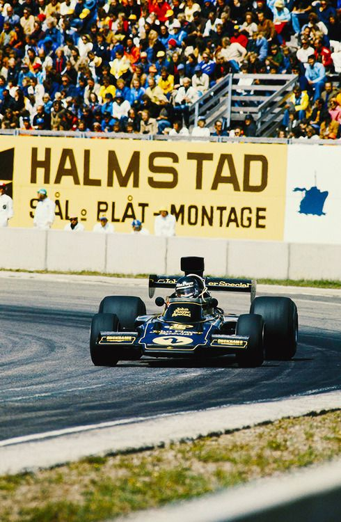 f1 1974 lotus Jacky Ickx at Anderstorp