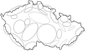 Výsledek obrázku pro slepá mapa české republiky pohoří   Pohoří ...