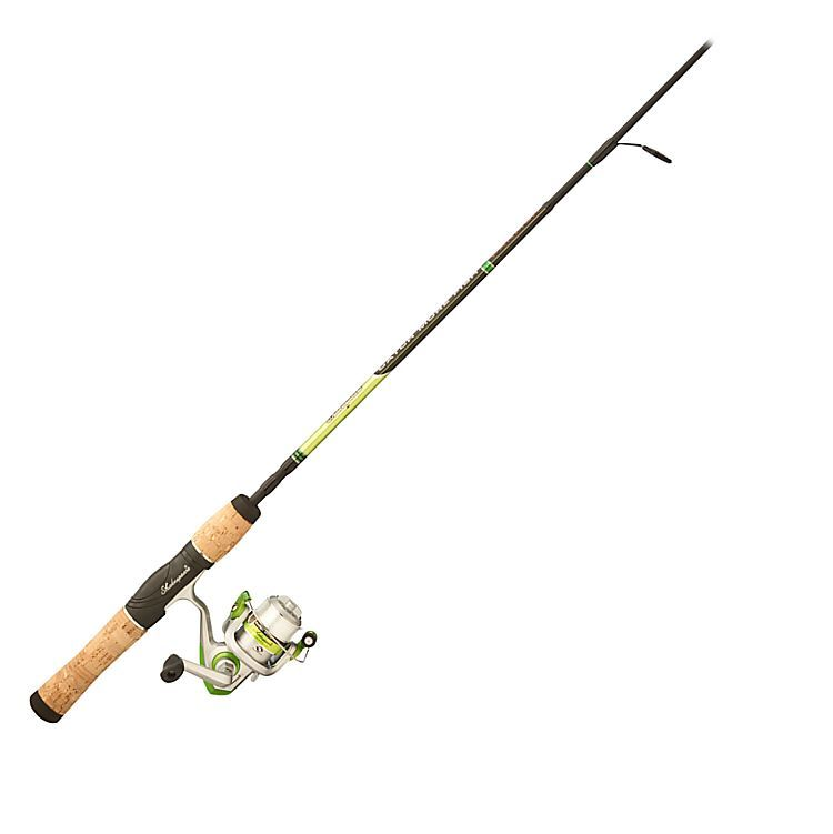 Shakespeare catch more rod and reel combo for panfish for Bass pro fishing poles