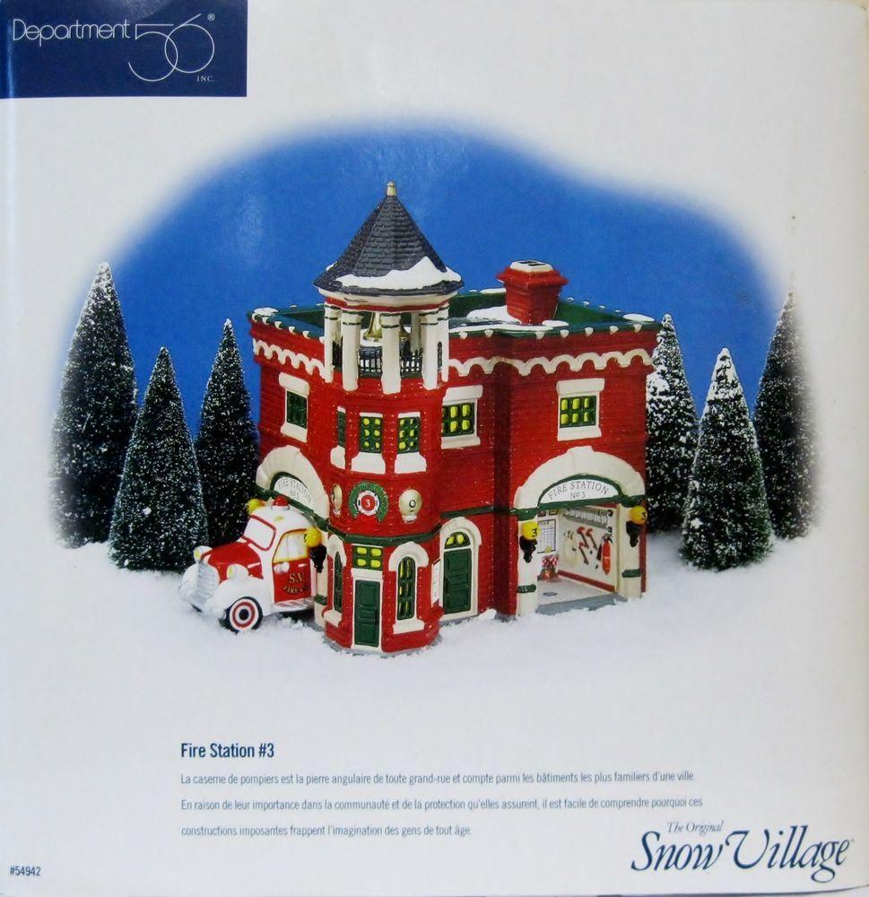 RARE NIB Dept 56 Snow Village Home For The Holidays Express Caboose #02991 NIB