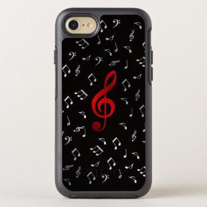 Music Note Clef Band Symbol Shiny Elegant Otterbox Symmetry