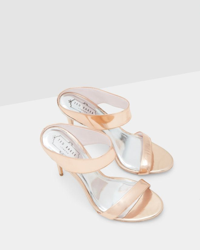 329c40842fdf Heeled mule sandals - Rose Gold
