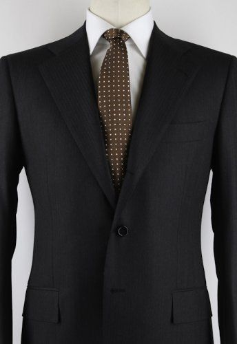 Cesare Attolini New Black Tuxedo 40//50