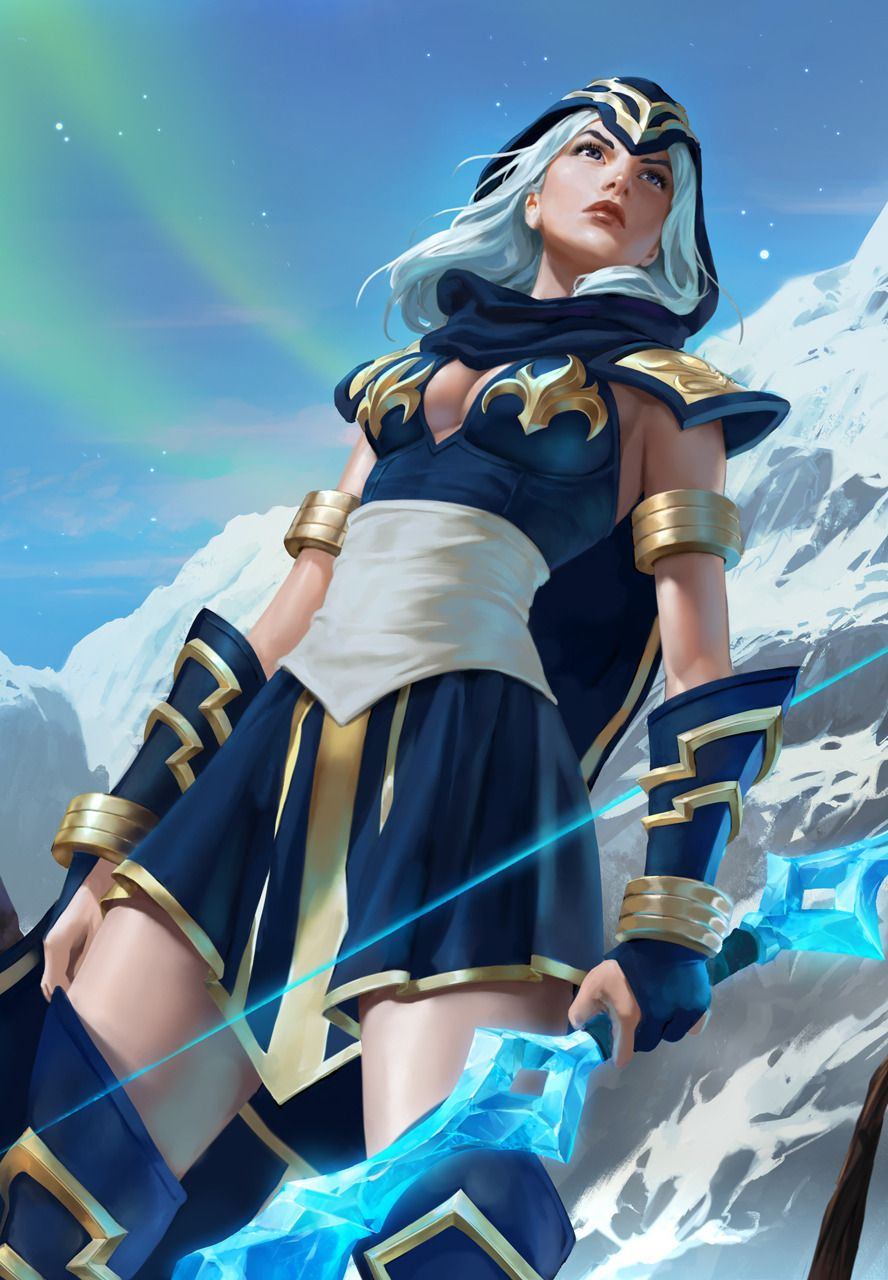 Ashe Legends of Lol league of legends