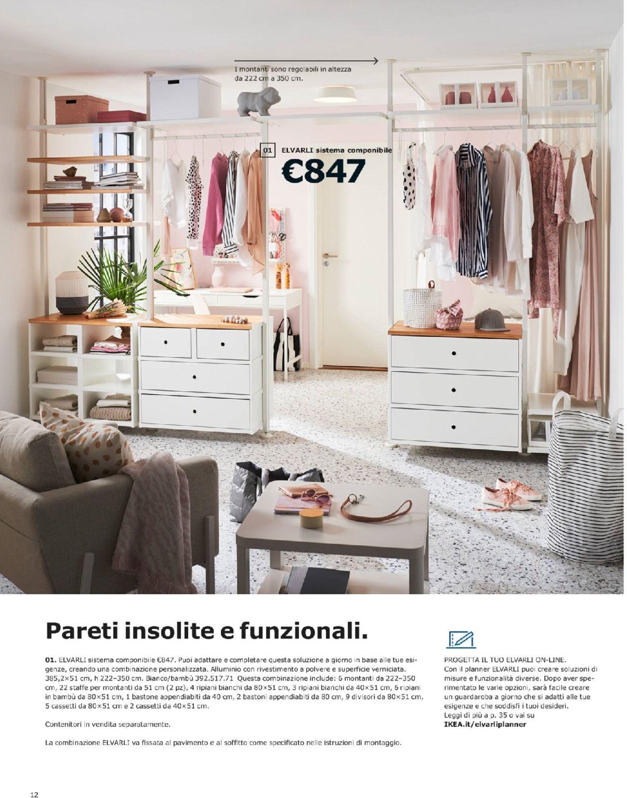 Ikea Catalogo Armadio Guardaroba.Leaflet Ikea Guardaroba Ikea Pagina 12 Valido Da 19 09 2018