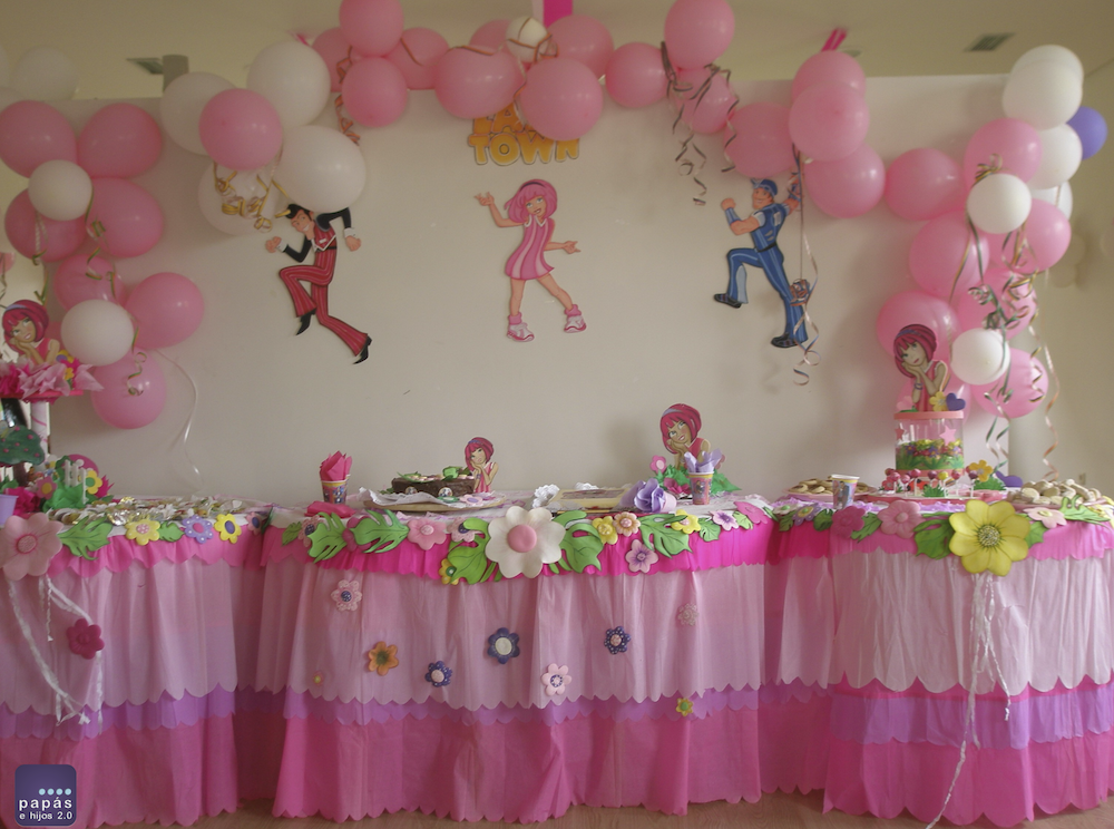 Decoraci n cumplea os infantil lazy town sugerencias for Diy decoracion cumpleanos