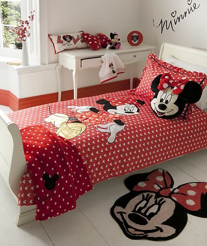 Nice Minnie Mouse Bed Set