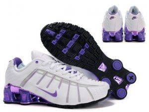 autumn shoes the cheapest new design Cheap Women Nike Shox O'Leven White Purple Shoes 5951604 | Nike ...