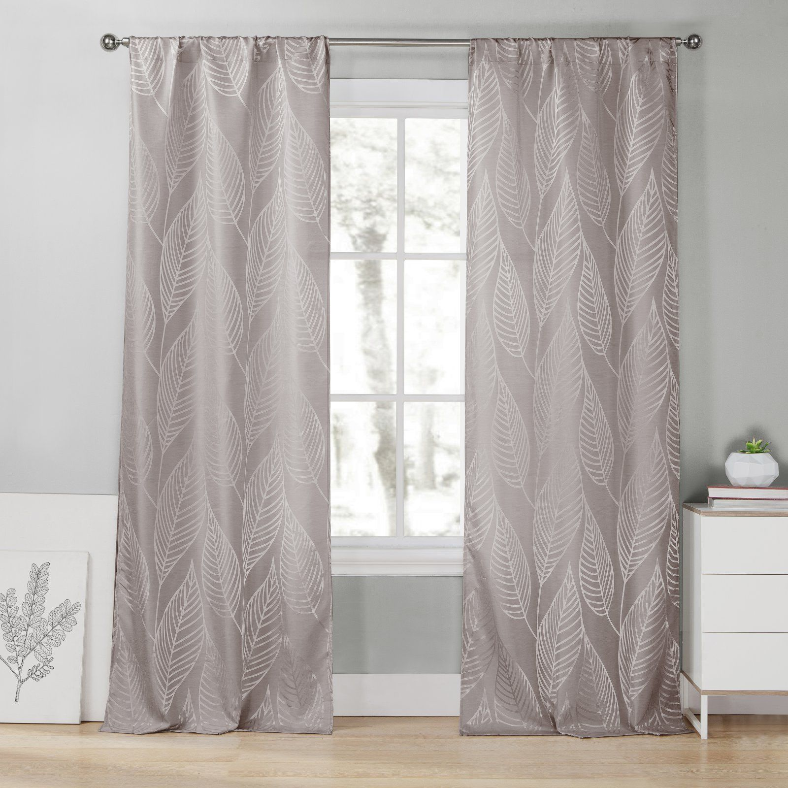Duck River Leah Pole Top Curtain Panel Pair In 2019 Products