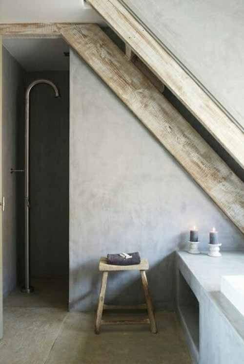 badkamer-douche-04 zolder | BathRoom | Pinterest | Badezimmer