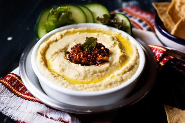Hummus with Chipotle Pepper Topping: It's Vegan, Gluten-Free & Healthy: Creamy Hummus with Chipotle Pepper Topping