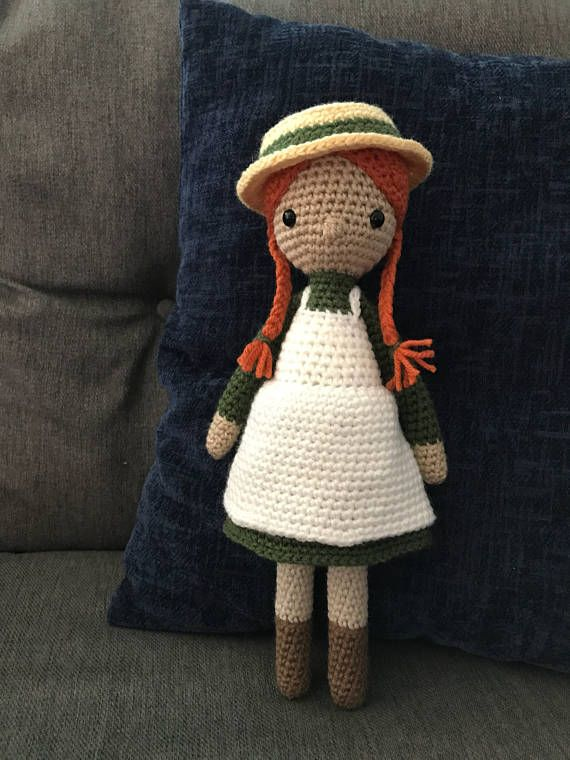cc2b818e5df Anne of Green Gables Girl Doll Stuffed Toy (Made to Order) in 2019 ...