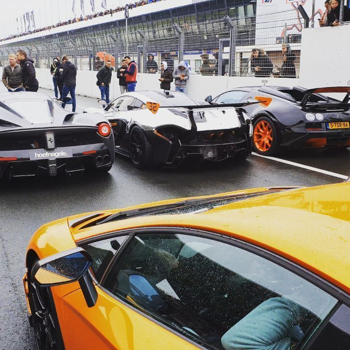 $60 million hypercars in 1 place with  Mclaren P1 GTR, Bugatti Veyron, Ferrari LaFerrari, Lamborgin