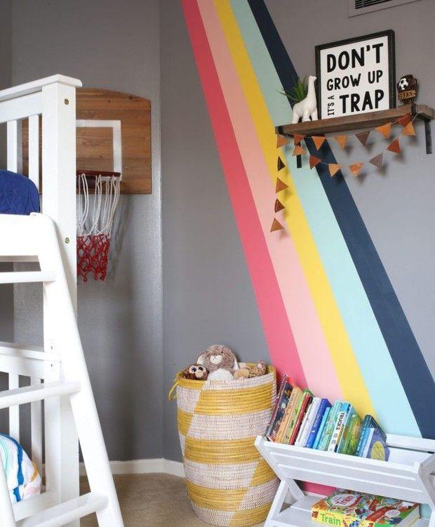 10 ideias de decoração com as cores do arco-íris