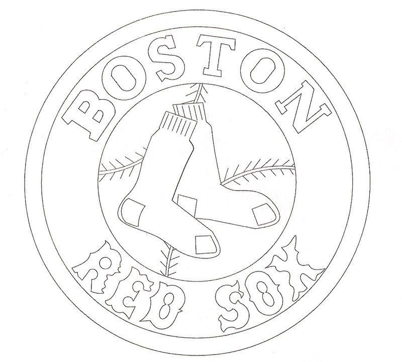 Red Sox Coloring Page Something To Do While Waiting For Spring Training To Begin Boston Red Sox Logo Red Sox Logo Red Sox