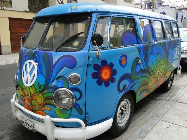 awesome hippie van ideas eccentric and colorful pictures