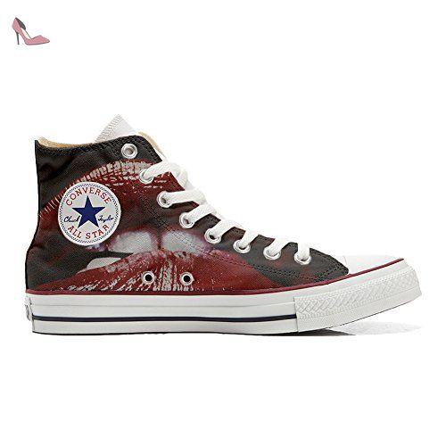 Converse Custom Slim personalisierte Schuhe (Handwerk Produkt) Infinity Texture  36 EU