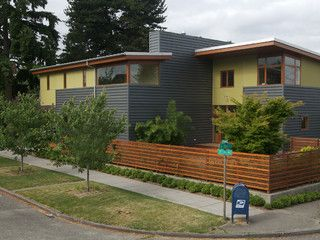 6b346adcdef2 Flip Flop House(S) - modern - exterior - seattle - by Mohler + Ghillino  Architects