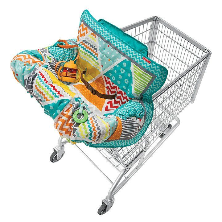 Compact Cart Cover Neutral Protect Your Little One From Germs And Viruses While Out And About This 2 Baby Shopping Cart Cover Baby Shopping Cart Cart Cover