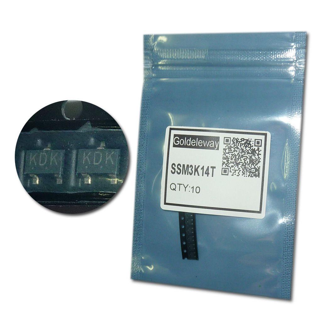 Find More Transistors Information about SSM3K14T MOSFET 30V 4A SOT ...