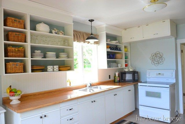 Updating european style cabinets