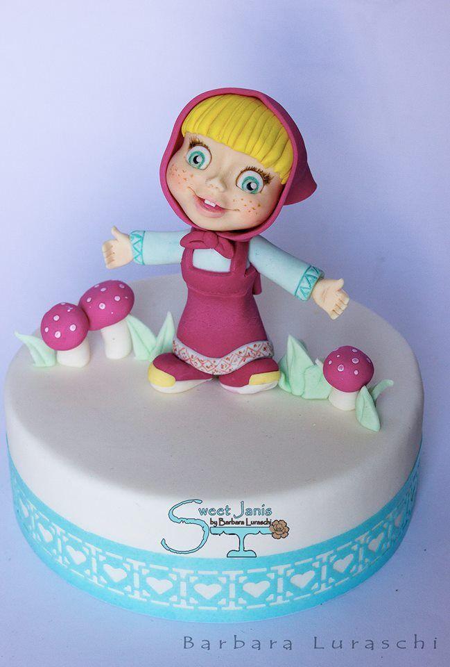 Sweet Janis By Barbara Luraschi Cakes Winnie The Pooh And Masha - Birthday cake barbara
