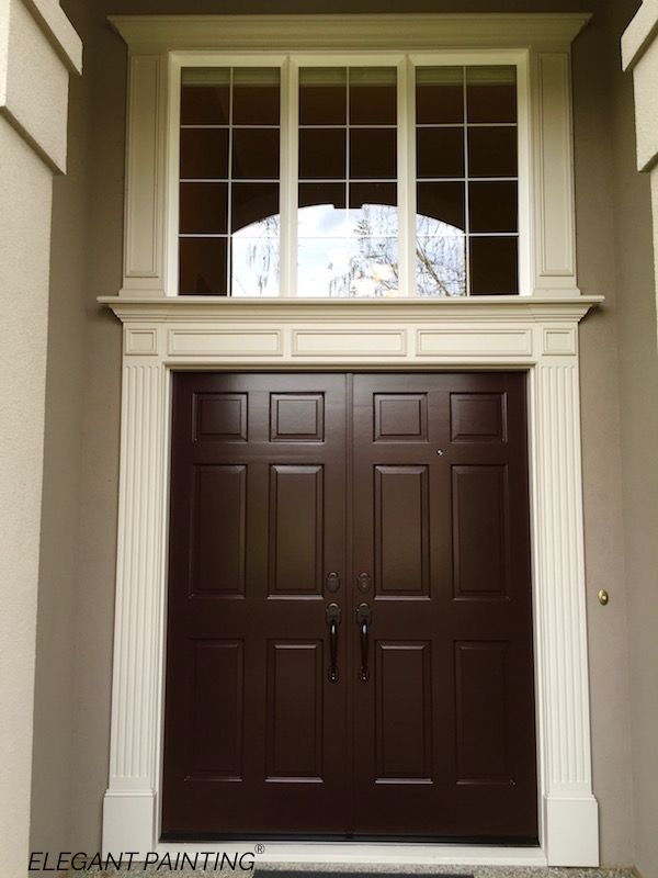Black Bean SW 6006 Sherwin Williams Color Product: Emerald Exterior Gloss  By Elegant Painting®