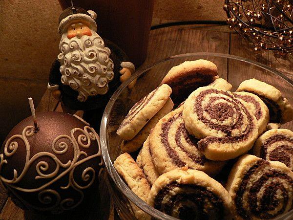 Biscuits bicolores