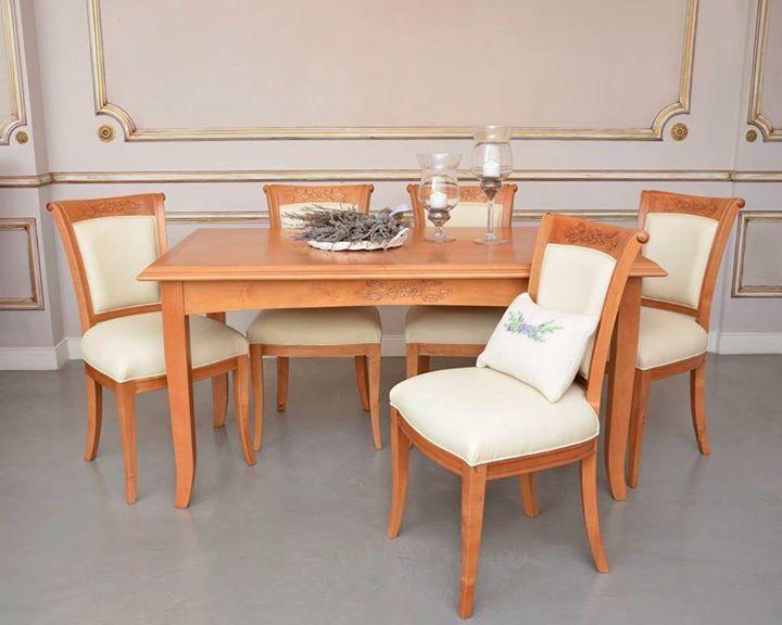 Juego de comedor: mesa Italiana con sillas Fragata. | Comedores ...