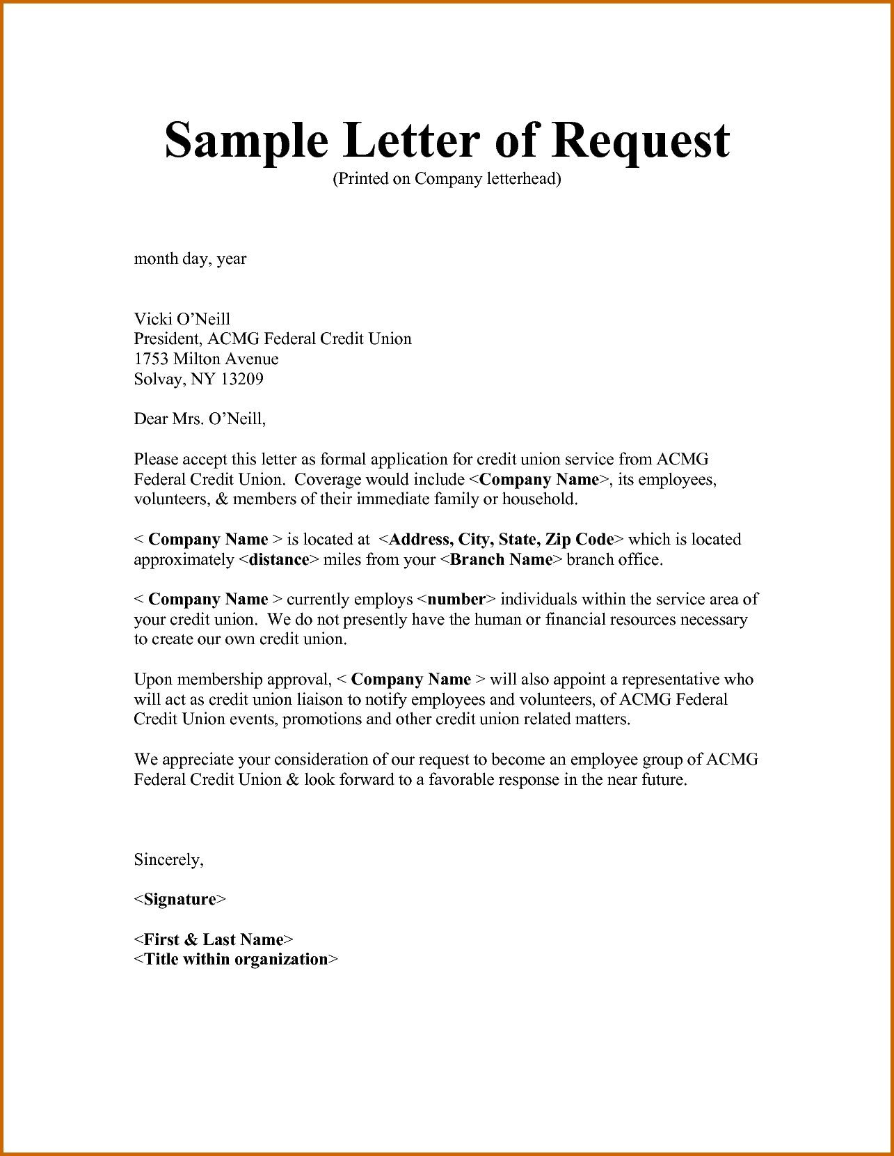 Example Letter Of Request for Approval Fresh 6 How to