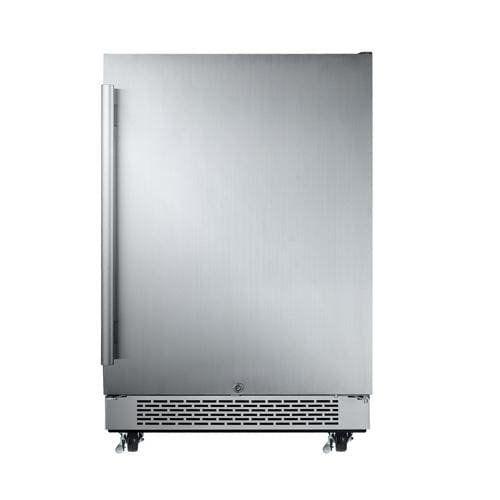 Avallon AFR241SSODLH 5.5 Cu Ft 24″ Outdoor Built-In Refrigerator – Left Hinge