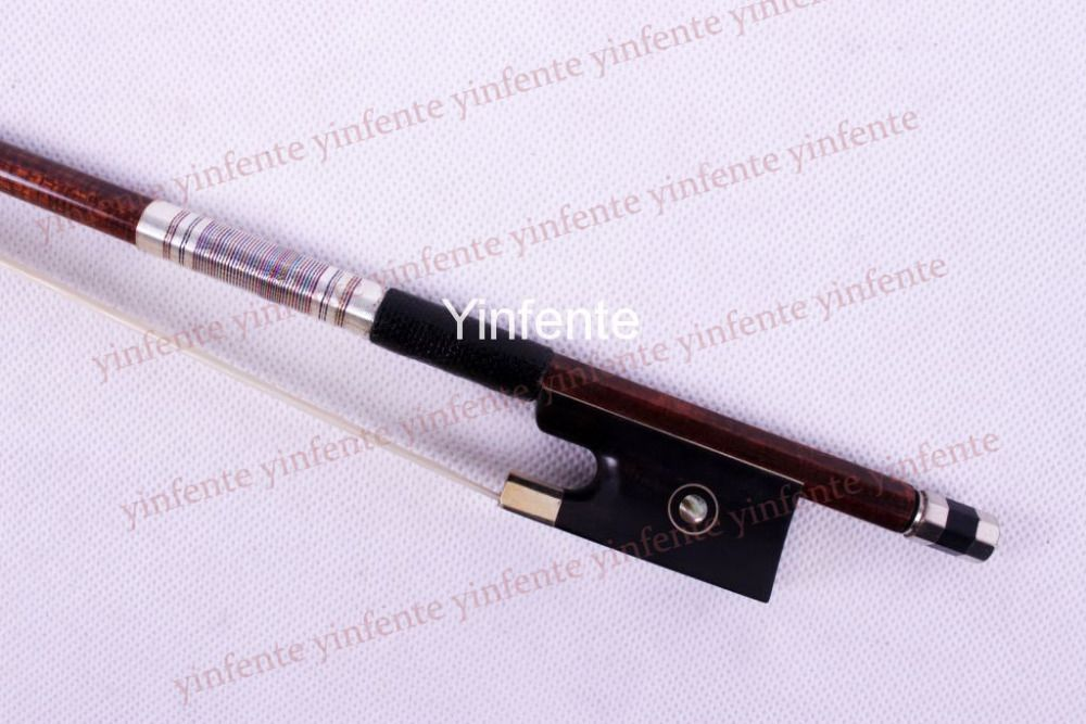 Promotional mall boutique high-end violin bow exquisite violin bow eyes color  bow 82#.