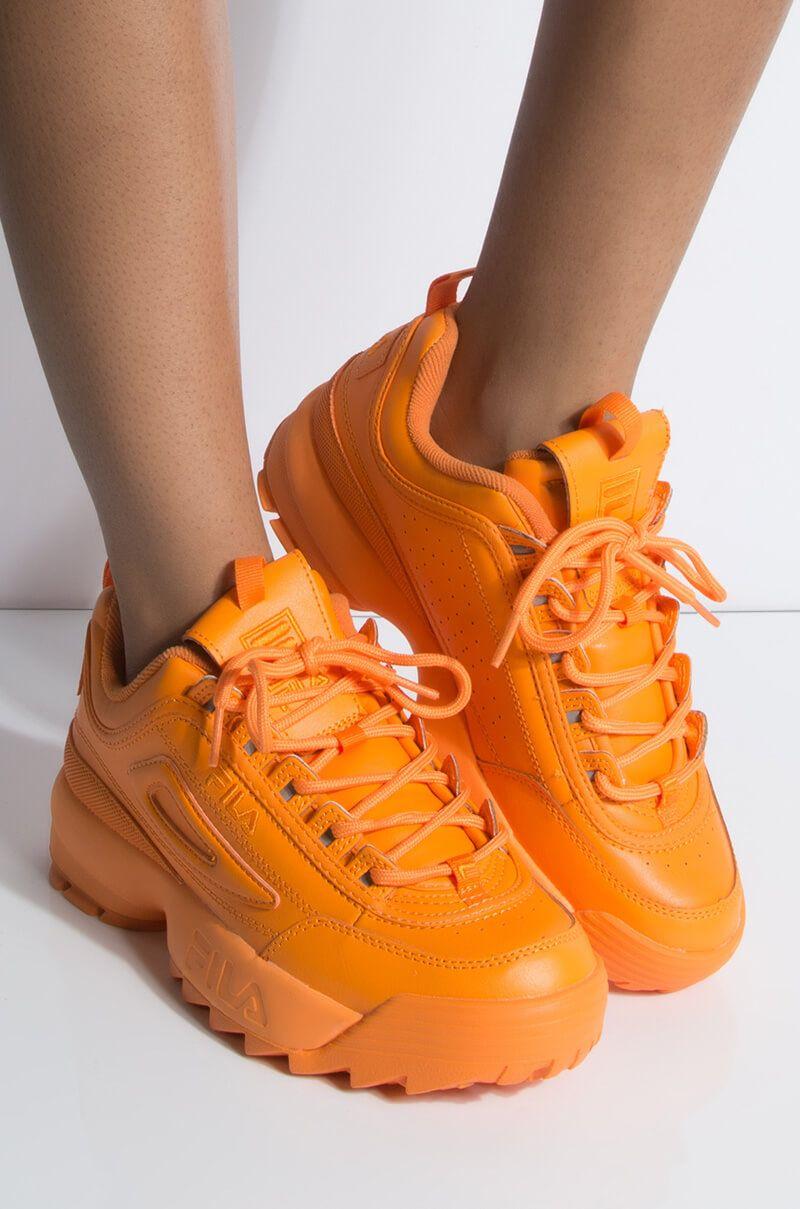 In Chunky Ii Fila Sneaker Womens Neon Premium Disruptor vm80ONwn