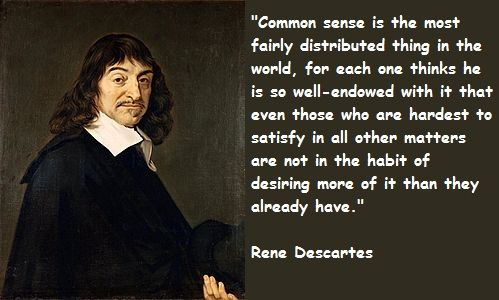 Image result for rene descartes quotes on math