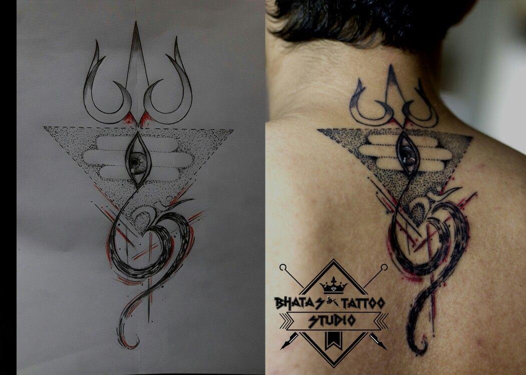 Concept Lord Shiva Trishul Tattoo For Further Details Contact Nishaan 09867935000 Shiva Tattoo Design Tattoos Trishul Tattoo Designs