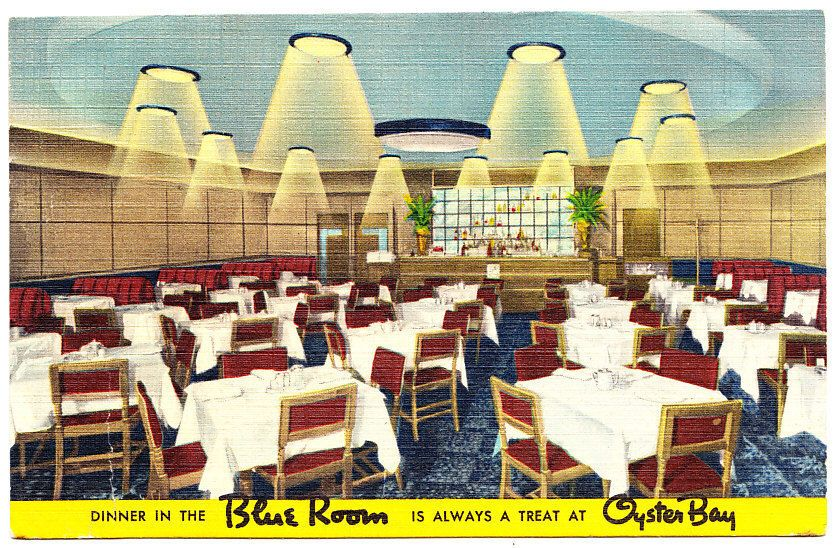Details About Dinner In The Blue Room Oyster Bay Restaurant