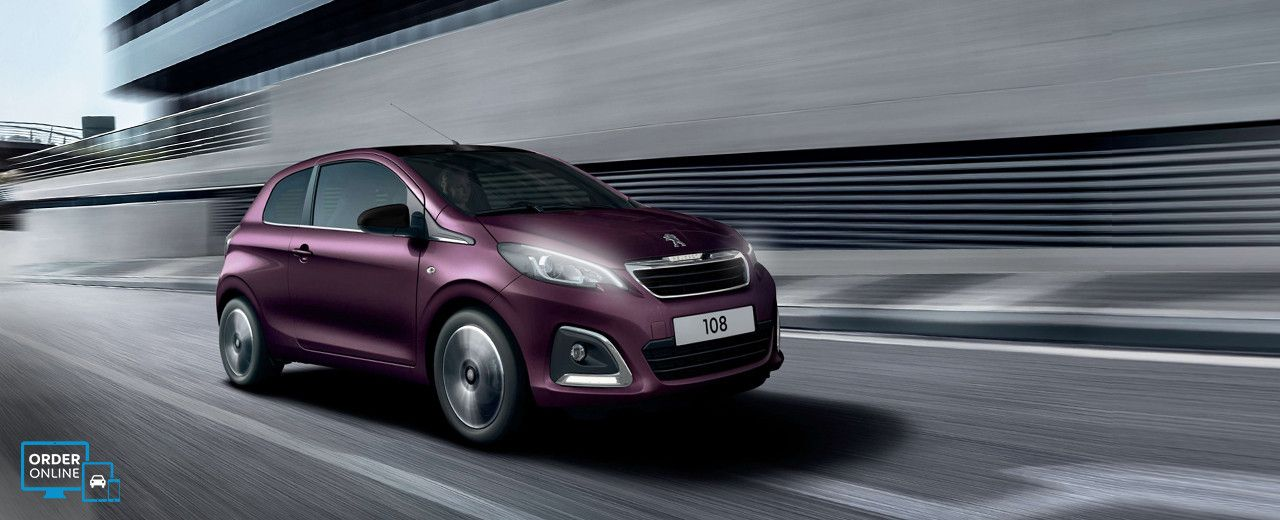 Discover The Peugeot 108 Hatchback Available As A 3 Or 5 Door