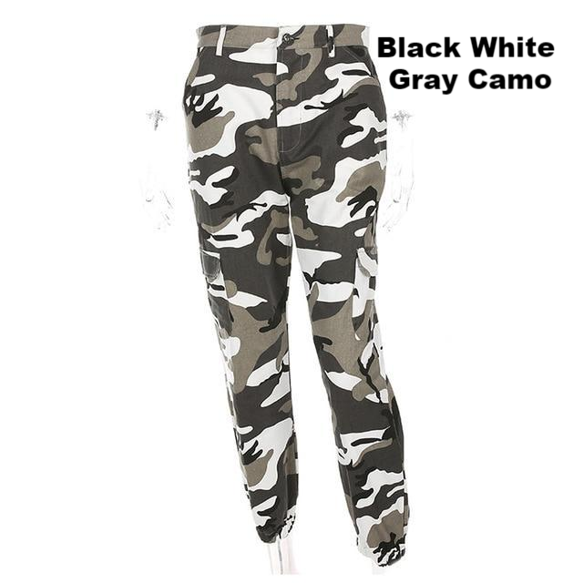aa30d62ab31d3 Camouflage Pants Women Cargo Black White Gray | HuntZing Sporting ...