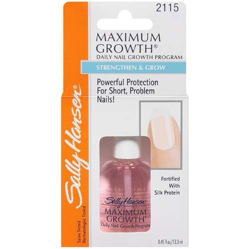 Sally Hansen Maximum Growth Daily Nail Program 4 48