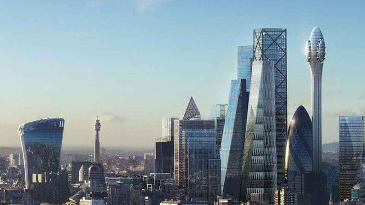 Striking Tulip Observation Tower Planned For London Foster Partners London City San Francisco Skyline